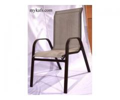 Outdoor Chair Mesh Seat and Back