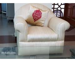 Sofa set (3+1+1 seater)