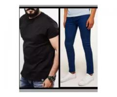 Pack Of 2 Half Sleeves T-Shirt & Pent