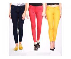 Fit Jeans For Girls Pack of 3 Skin